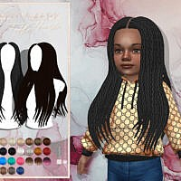 Beauty Mark Hair (toddler Conversion) By Javasims