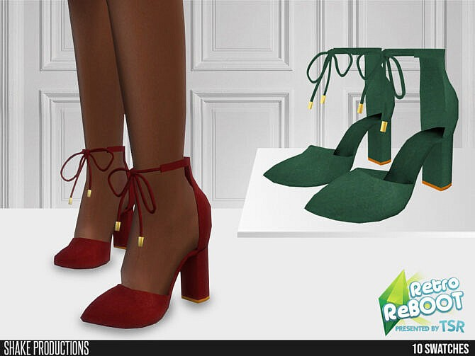 Sims 4 Retro High Heels by ShakeProductions at TSR