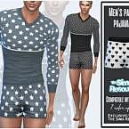 Men's Panties Pajamas By Sims House