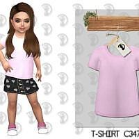 T-shirt C347 By Turksimmer