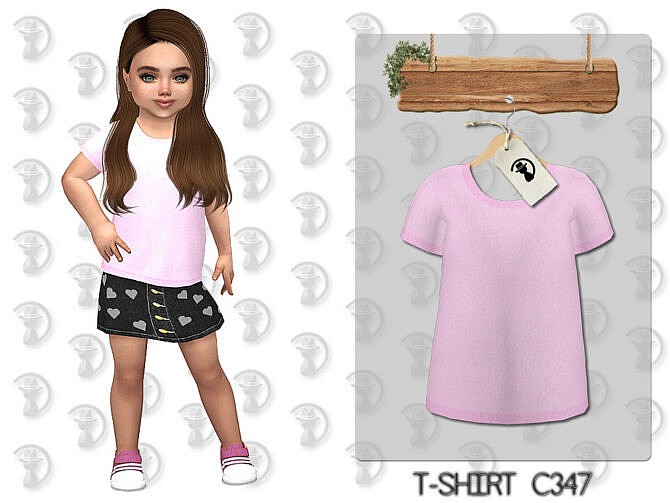 Sims 4 T shirt C347 by turksimmer at TSR