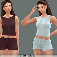 Knit Sweater Tank Top Set 24 – 3 By Ekinege