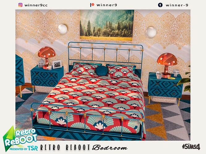 Elegant Retro Bedroom By Winner9