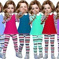 Collar Top Toddler Girls By Trudieopp