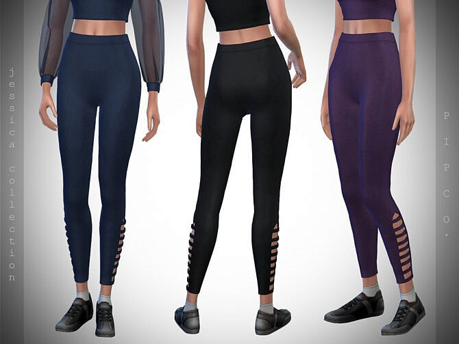Sims 4 Jessica Leggings by Pipco at TSR