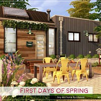 First Days Of Spring House By Lhonna