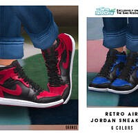 Retro Air Jordan Sneakers By Oranostr