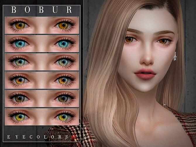 Sims 4 Eyecolors 48 by Bobur3 at TSR