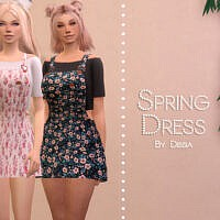 Spring Dress By Dissia