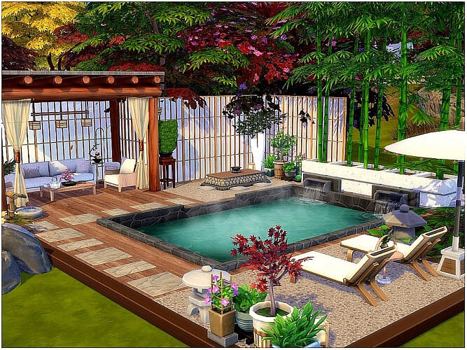 Hot Spring Outdoor Room By Lotsbymanal