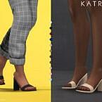 Katrina Heels By Plumbobs N Fries