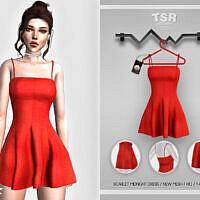 Scarlet Midnight Dress Bd435 By Busra-tr