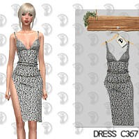 Dress C367 By Turksimmer