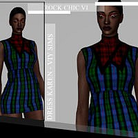 Rock Chic Vi Dress Karen By Viy Sims