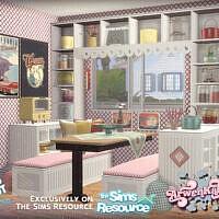 Retro Reboot Dining Room By Arwenkaboom