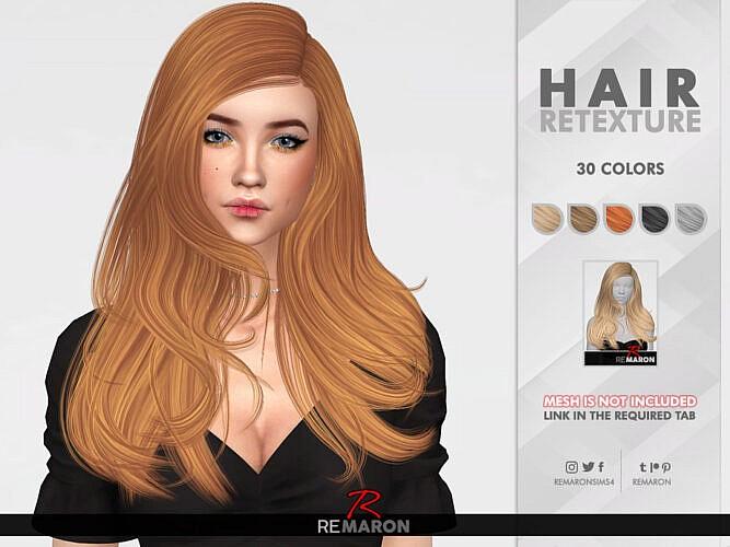 Inaya Hair Retexture By Remaron