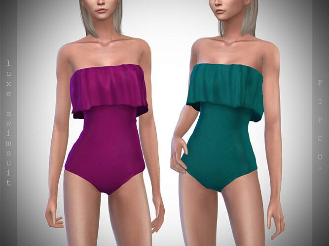 Luxe Swimsuit Ii By Pipco