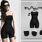 Sleeveless Romper Bd436 By Busra-tr