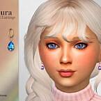 Aura Child Earrings By Suzue