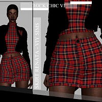Rock Chic Vi Skirt Renata By Viy Sims