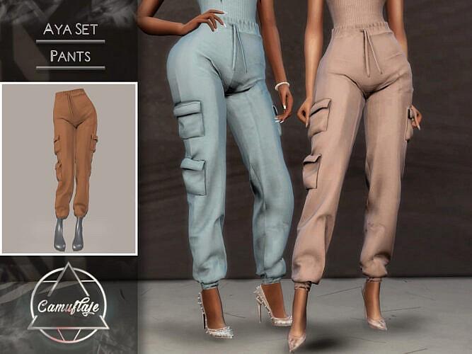 Aya Set (pants) By Camuflaje
