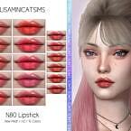 Lmcs Lipstick N80 (hq) By Lisaminicatsims