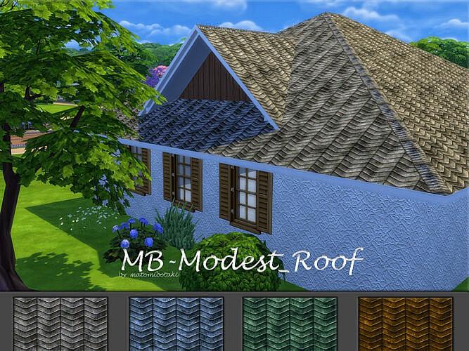 Mb Modest Roof By Matomibotaki