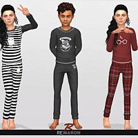 Harry Potter Sweatshirt 01 Kids By Remaron