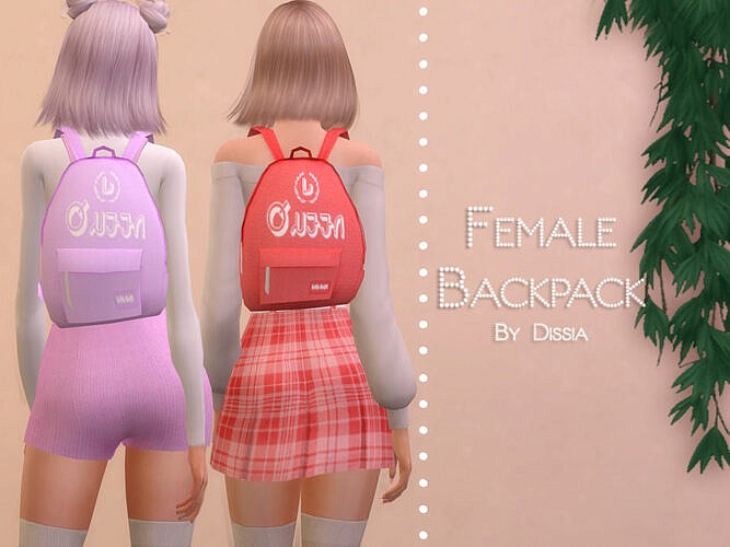 Backpack Female By Dissia