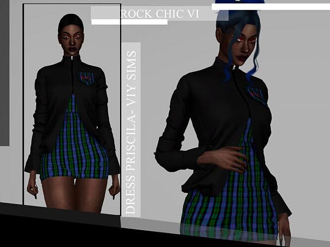 Rock Chic Vi Dress Priscila By Viy Sims