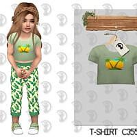 T-shirt C355 By Turksimmer