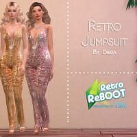 Retro Retro Jumpsuit By Dissia