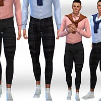 Men Fit Pants By Saliwa