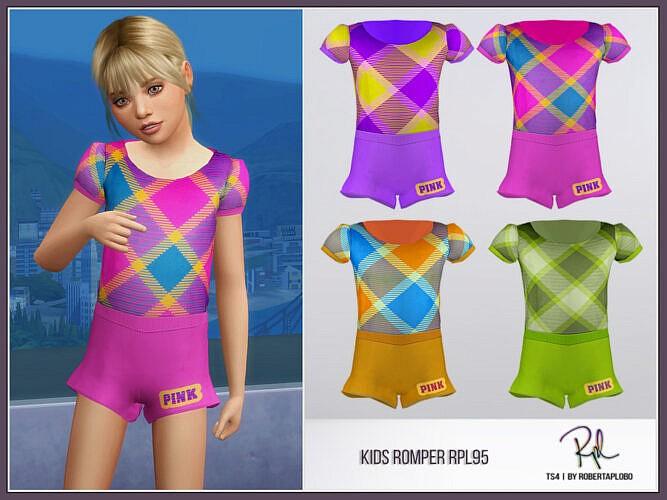 Kids Romper Rpl95 By Robertaplobo