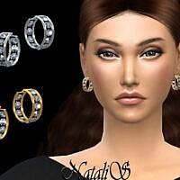 Eternity Hoop Earrings By Natalis