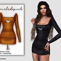 Butterfly Dress Mc165 By Mermaladesimtr