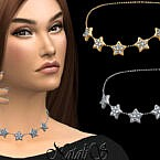 Diamond Stars Choker By Natalis