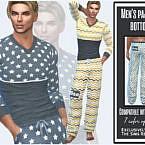 Men's Pajamas Bottom By Sims House
