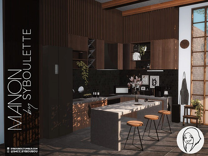 Manon Kitchen Part 1: Furniture By Syboubou