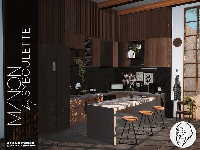 Sims 4 Manon Kitchen Part 1: Furniture by Syboubou at TSR