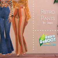Retro Pants By Dissia