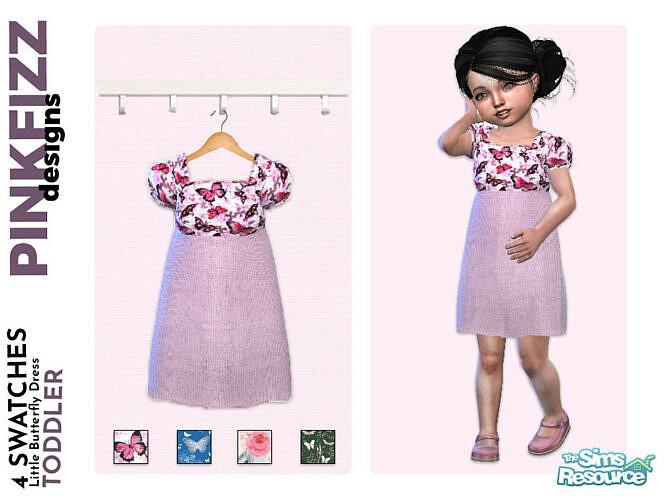 Little Butterfly Dress By Pinkfizzzzz