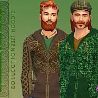 Celtic Zip Hoodie By Simmiev