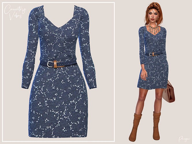Country Vibes Dress By Paogae