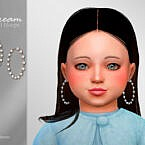 Dream Toddler Hoops Earrings By Suzue