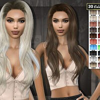 Ronya Hairstyle 11 By Sims2fanbg