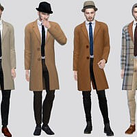 Payne Long Trench Coat By Mclaynesims
