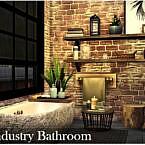 Industrial Bathroom By Nobody1392