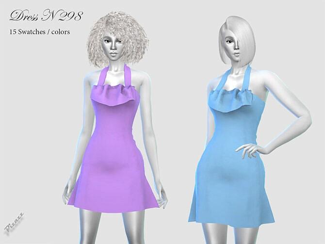 Sims 4 DRESS N 298 by pizazz at TSR