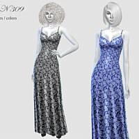 Long Dress N309 By Pizazz